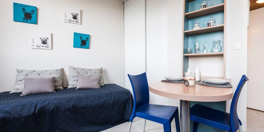 r sidence tudiante suit tudes le parc belv d re clermont ferrand. Black Bedroom Furniture Sets. Home Design Ideas